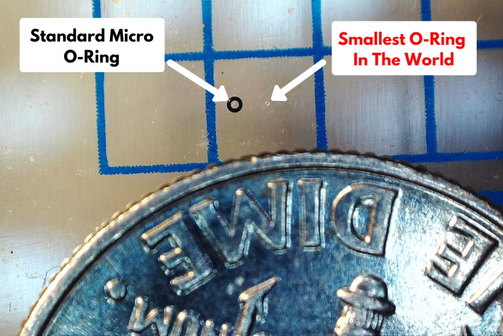 The World's Smallest O-Ring